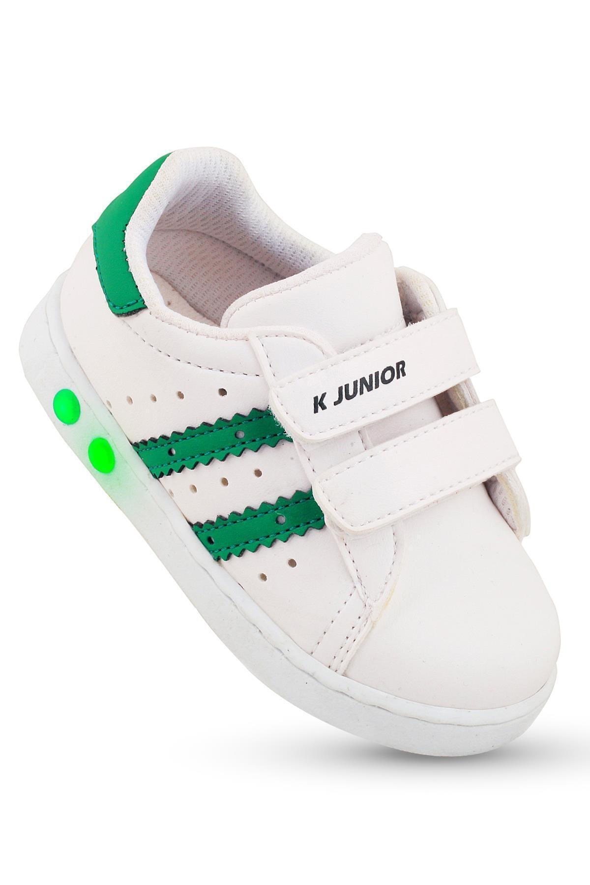 Erkek Bebek Yeşil İlkadım Ortopedik Spor Ayakkabı