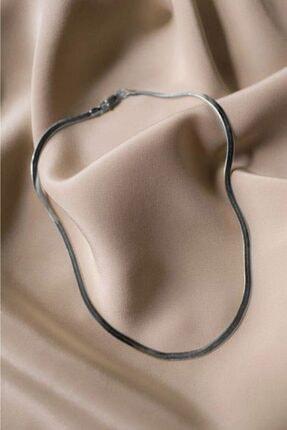 shey butik Kadın Silver Italyan Zincir Kolye 2