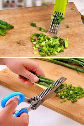 Nova Casa Çoklu Doğrama Makası, Sebze Makası, Sebze Meyve Kesme Doğrama Makası 4