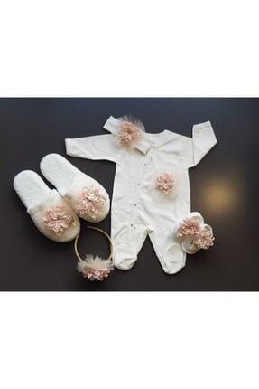 Dandini Yeni Kolleksiyon Anne Bebek Lohusa Seti - Kız Bebek 1