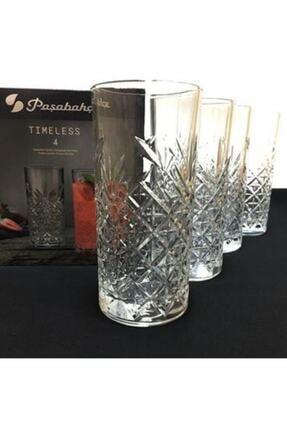 Paşabahçe 520205 Timeless Meşrubat Bardağı 365 Cc 4 Lü 3