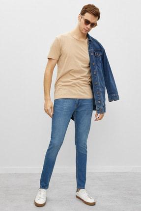 Koton Erkek Mavi Jean Pantolon 1