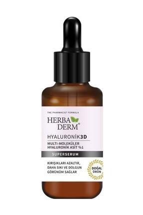 Herbaderm Superserum Hyaluronik 3d 30 ml 0