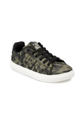 Kinetix VULDA CAMO Haki Erkek Çocuk Sneaker Ayakkabı 100317047 0