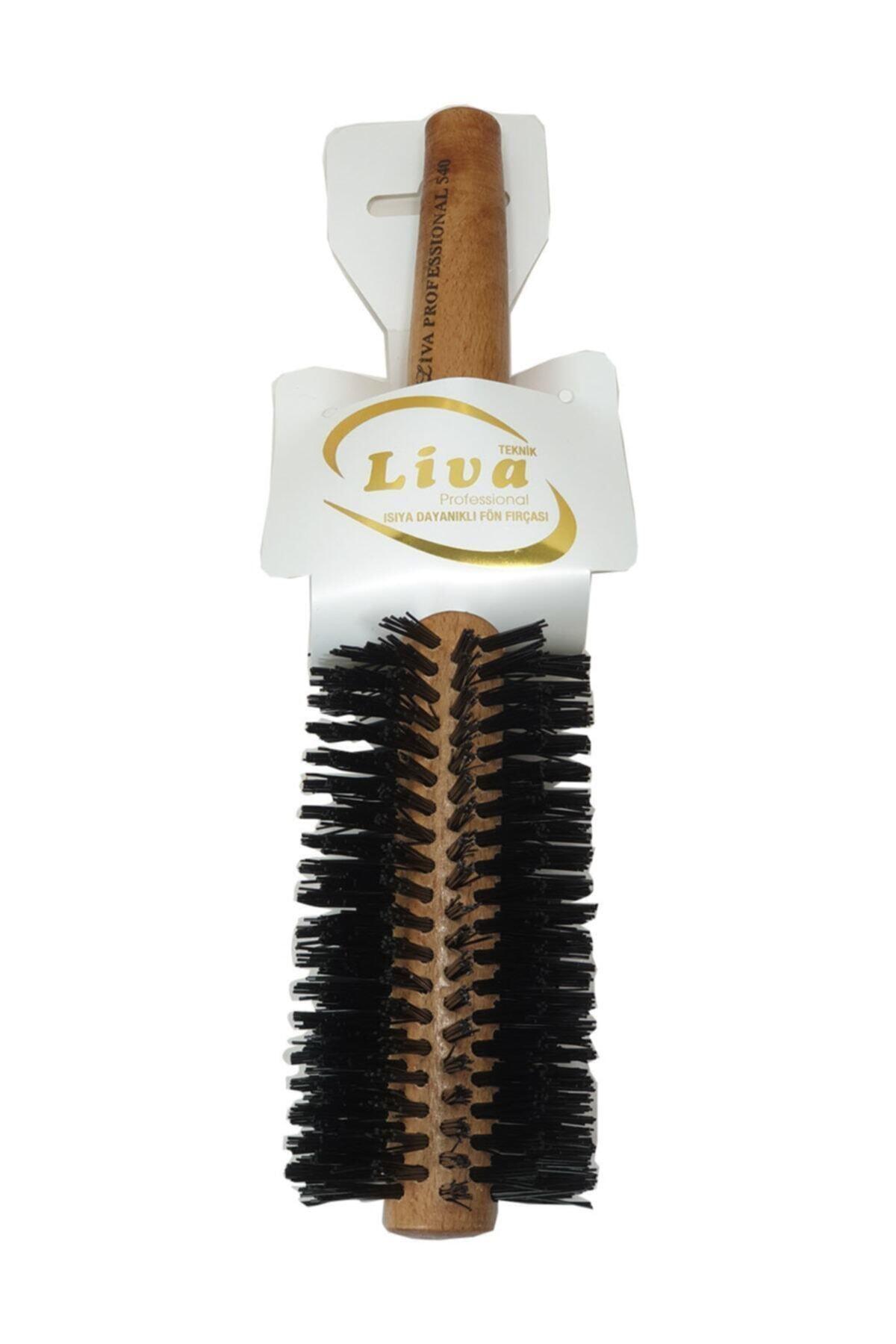 Saç Fırçası Yanmaz Profesyonel Büyük Fön Fırçası