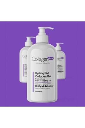 Collagen Forte Hydrolyzed Yüz Ve Vücut Jeli 250 ml 2