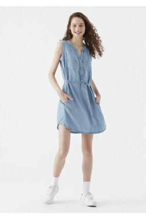 Mavi Suzy Lux Touch Lyocell Denim Elbise 0