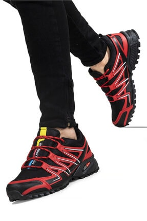 Ayakkabix Erkek Kırmızı Ferrani Günlük Spor Ayakkabı 2