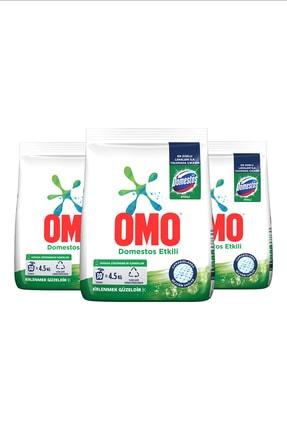 Omo Domestos Etkili Toz Çamaşır Deterjanı 30 Yıkama  4.5 KG  x 3 Adet 1