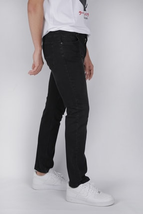 Tommy Black Wash Yüksek Bel Jean Pantolon 5300551