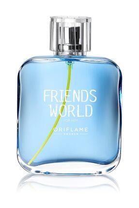 Oriflame Friends World for Him Edt 75 ml Erkek Parfümü 5698541265154 0