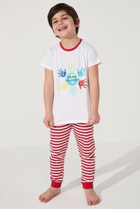 Penti Çok Renkli Unisex Together Ss 2li Pijama Takımı 1