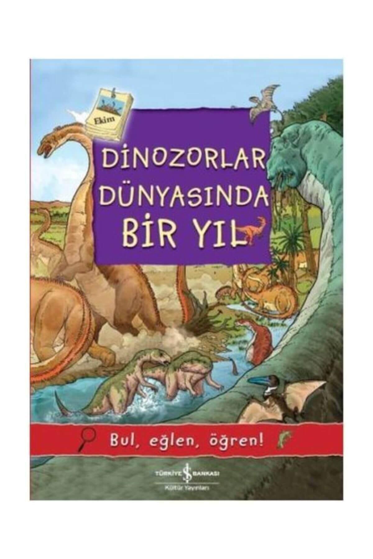 Dinozorlar Dünyasında Bir Yıl Olivia Brookes