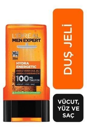 L'Oreal Paris Men Expert Erkek Komple Bakım Seti Hydra Energetic Yüz Yıkama Jeli 100ml + Duş Jeli 300 ml + Roll On 3