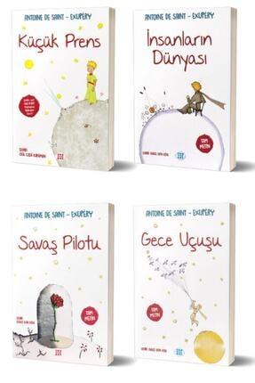 Dokuz Yayınları Antoine De Saint Exupery Seti - 4 Kitap 0