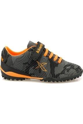 Kinetix Erkek Çocuk Siyah Agron J Camo Turf Halı Saha Ayakkabısı 1