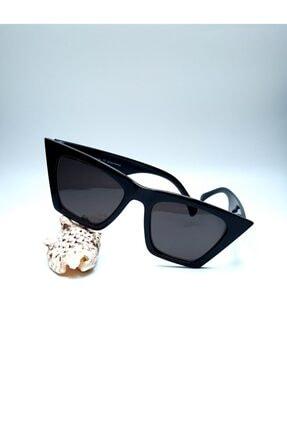 by.accessoriess Siyah Kadın Güneş Gözlüğü 4