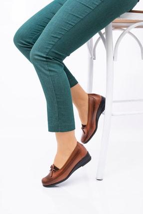 THE FRİDA SHOES Anne Ayakkabısı Taba Deri Taban Tam Ortopedik Her Mevsim 08 1