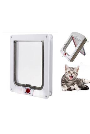 Mixpet 4 Yönlü Kilitlenebilir Yavru Köpek Ve Kedi Kapısı 23x25 Cm 2