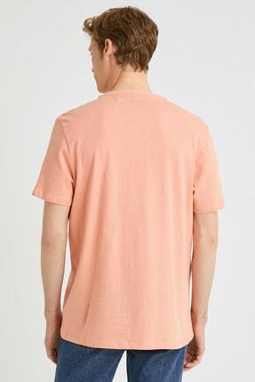 Koton Erkek Mercan T-Shirt 1YAM11591HK 2