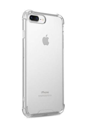 Telefon Aksesuarları Iphone 7 Plus - 8 Plus Ultra Ince Şeffaf Airbag Anti Şok Silikon Uyumlu Kılıf- Şeffaf 3