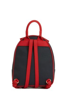 US Polo Assn Lacıvert-kırmızı Kadın Sırt Çantası Us8221 3