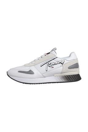Tommy Hilfiger Leather Lıfestyle Sneaker 0