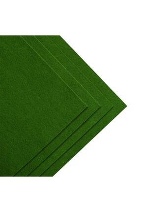 toptankece Kalın Keçe 50x50 Cm Yeşil Tonlar 3 Renk 1
