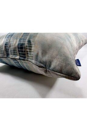 BENLİSSO Home Collection & Textile Kırlent Kılıfı 45x45 Özel Tasarım (SU YEŞİLİ) 1
