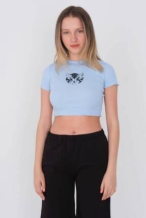 Addax Kısa Kollu T-shirt P002 - F5 1