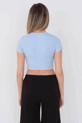 Addax Kısa Kollu T-shirt P002 - F5 4