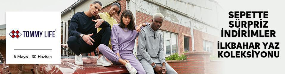 Tommy Life - Erkek & Kadın & Çocuk Tekstil Sepette 30%