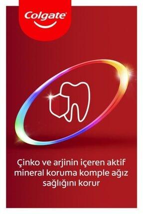 Colgate Total Profesyonel Beyazlık Beyazlatıcı Beyazlatıcı Diş Macunu 75 Ml X 3 Adet + Fırça Kabı He 1
