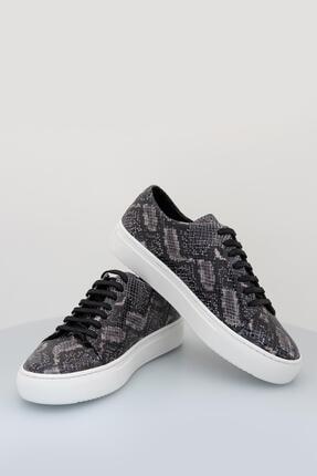 Sea Bullock Kadın  Sneaker Snake Kauçuk Siyah Kadın 0