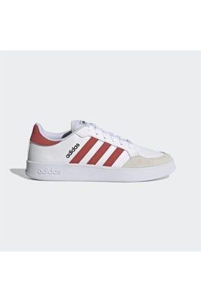 adidas Erkek Beyaz Bağcıklı Günlük Spor Ayakkabı Breaknet 0