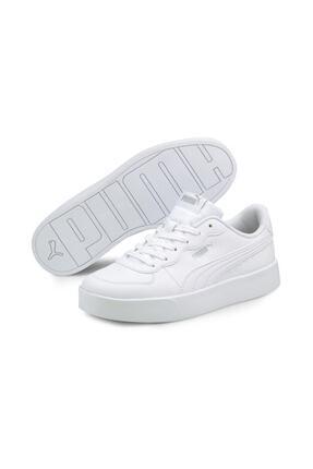 Puma Skye Clean Kadın Beyaz Günlük Ayakkabı 38014702 1