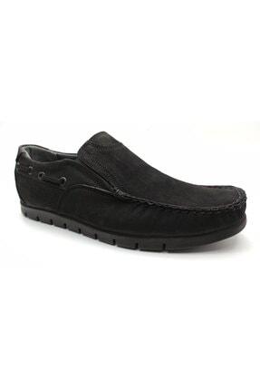 ARTMEN Plus Serisi Hakiki Nubuk Deri Makosen Erkek Siyah Günlük Ayakkabı 1