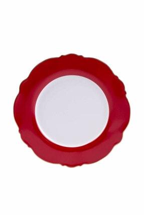 Karaca Romantic Servis Tabağı Kırmızı 0