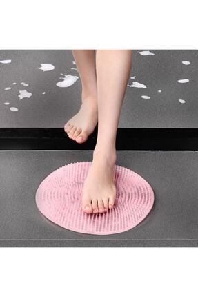 CMT Vantuzlu Banyo Fırçası Masaj Pedi Sırt Ayak Kesesi Yıkama Aleti Lifi 1