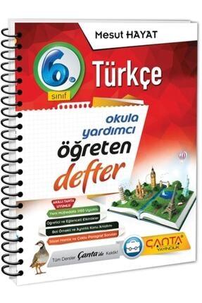 Çanta Yayınları 6. Sınıf Türkçe Öğreten Defter(2021-2022) 0