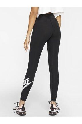 Nike Sportswear Yüksek Belli Siyah Tayt 0