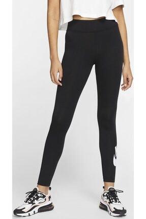 Nike Sportswear Yüksek Belli Siyah Tayt 1
