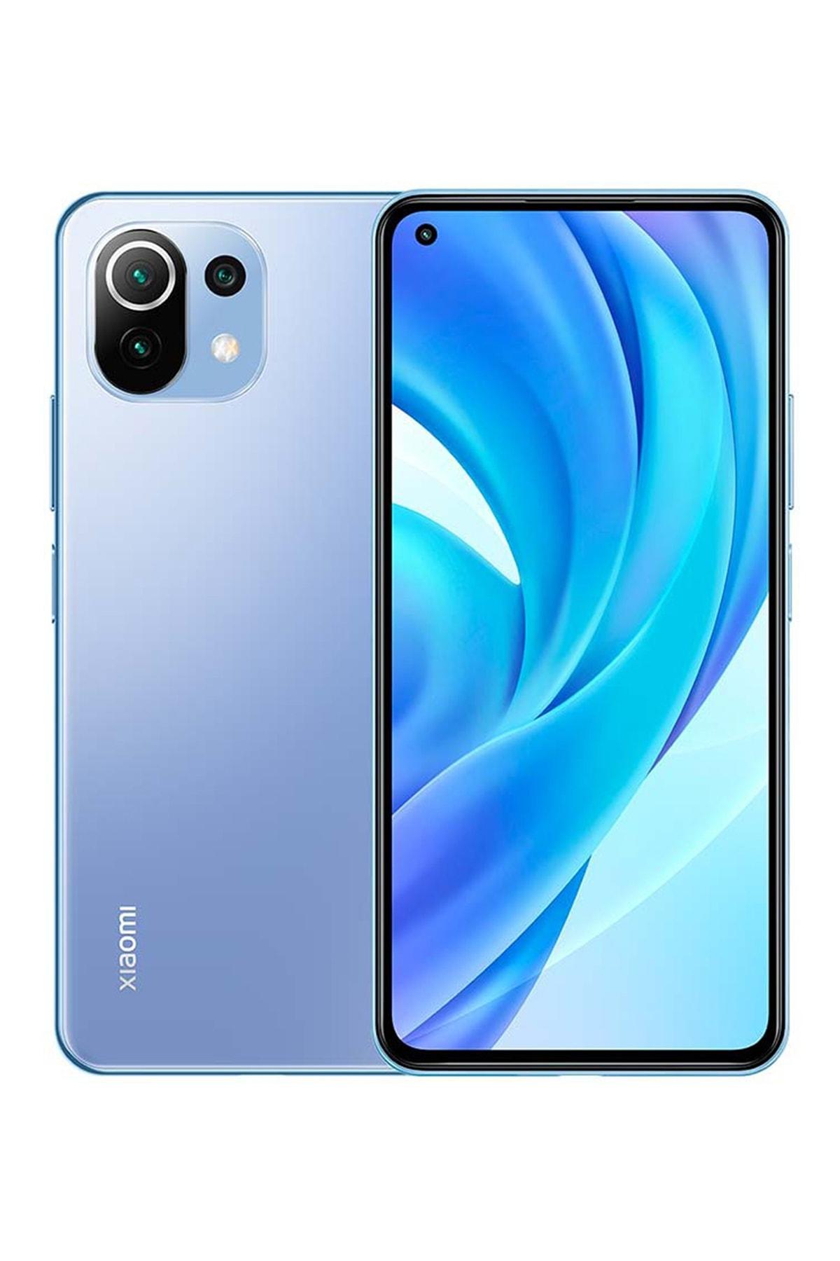 Mi 11 Lite 128GB 6GB Ram Mavi Cep Telefonu (Xiaomi Türkiye Garantili)