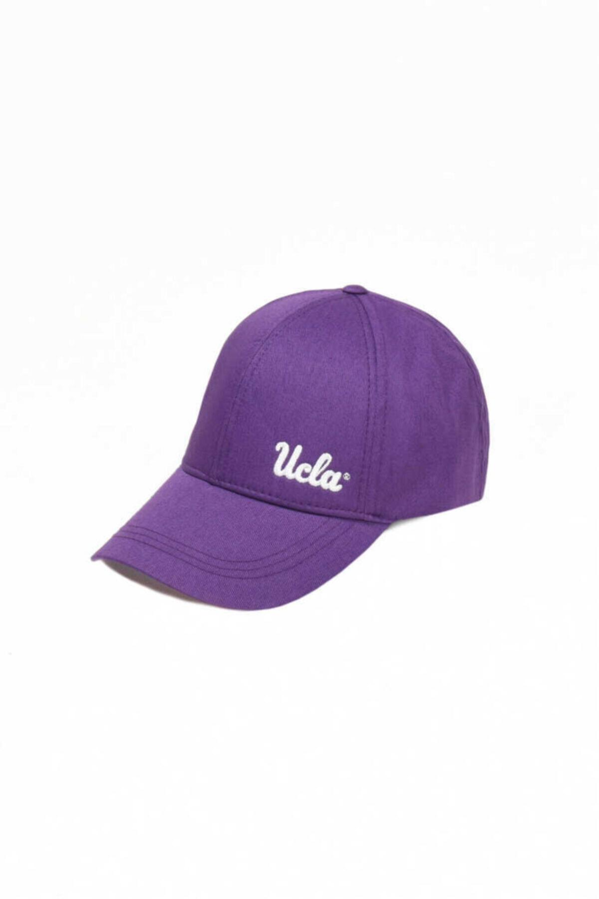 Jenner Mor Baseball Cap Nakışlı Şapka