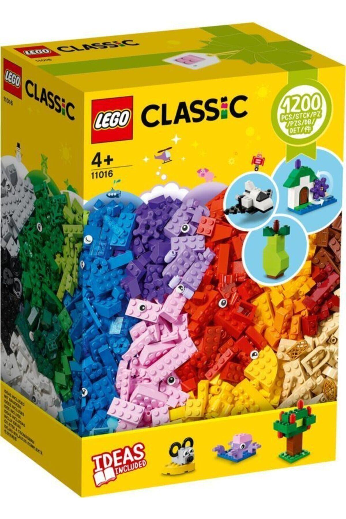 ® Classic Yaratıcı Yapım Parçaları Kutusu 11016 - Çocuklar Için Oyuncak Yapım Seti(1200 Parça)