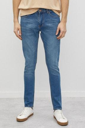 Koton Erkek Mavi Jean Pantolon 2