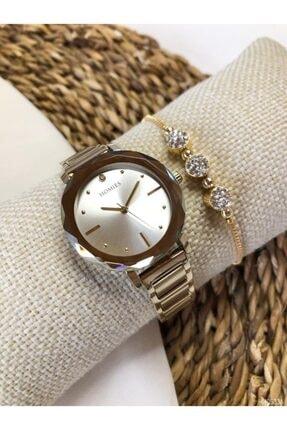 Kadın Kol Saati Ve Bileklik HM0533A