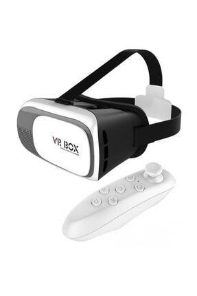 Vr Box 3d Sanal Gerçeklik Gözlüğü Kumandalı 0