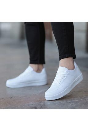 öz taha Beyaz Unisex Spor Ayakkabı 0