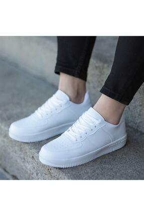 öz taha Beyaz Unisex Spor Ayakkabı 1